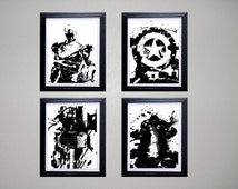 Avengers Ink Grunge Print Collection