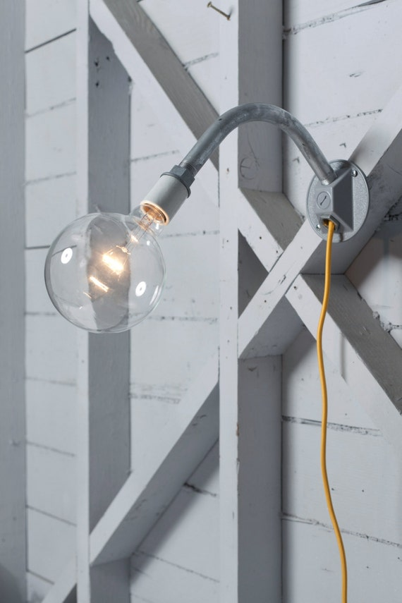 Wall Mounted Industrial Lamp : Industrial Wall Light