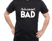 Andy Warhol's Bad  Black T-shirt Sz S M L XL