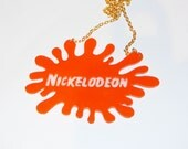 Nickelodeon splat  necklace