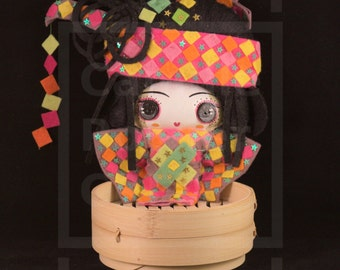 Chifoumi/OOAK/Handmade Doll