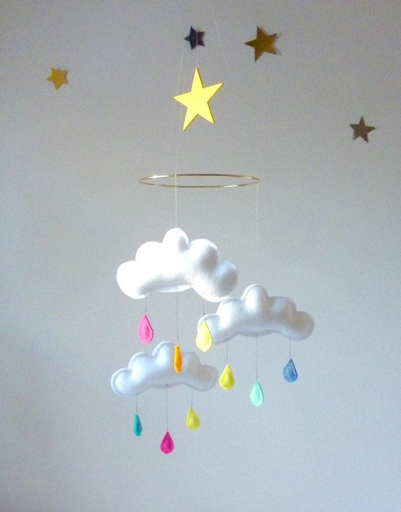 mobile b b mobile nuage beb m vil 3 nuages sur anneau. Black Bedroom Furniture Sets. Home Design Ideas