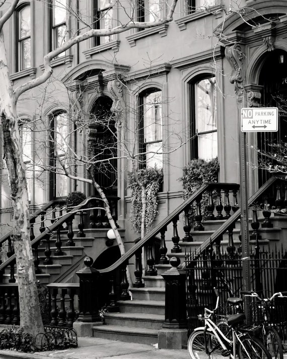 New York City Photography Black And White Photograph West