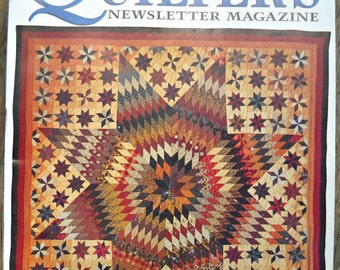 Quilter's Newsletter Magazine, Issue No. 327, November 2000