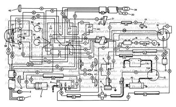 Electrical Schematic Diagram Tech Plans Blueprint Design Geek
