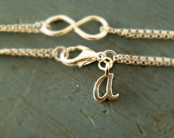 Personalized charm Sterling Silver or Gold Vermeil Initial CHARM ONLY only available with one of my pieces Add On