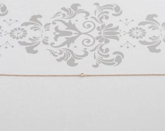 Diamond Bracelet - White Diamond, 14K Yellow Gold