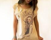 On Sale , Beige tunic , sleeveless , mini dress - sevenseventyfashion