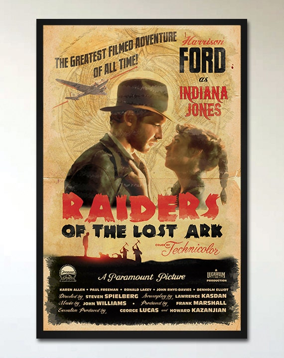Indiana Jones Raiders of the Lost Ark // by ...