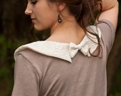 Lace Peter Pan Collar T-Shirt