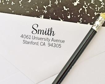 Custom Return Address Stamp - Self-inking - wedding gift, housewarming gift, personalized