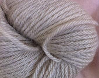 DK Yak Down Undyed Yarn , Natural Yak Undyed Yarn Blank, Natural Undyed Luxury Yarn, Undyed Yak Yarn