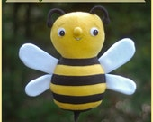 Benji the Bumblebee - PDF Sewing Pattern for a Cute and Easy Softie to Make