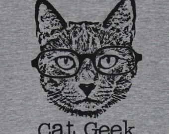 Cat Geek Womens Tee