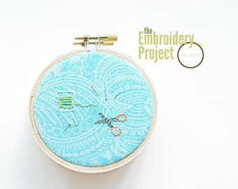 Re-Sized - PDF Class on Hand Embroidery at Different Sizes
