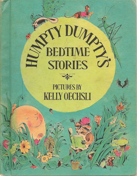 VINTAGE KIDS BOOK Humpty Dumpty's Bedtime Stories