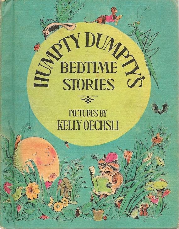 VINTAGE KIDS BOOK Humpty Dumpty's Bedtime Stories