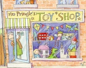 Giclee Print - Toy Shop