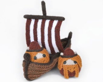 Knit Vikings Pattern PDF