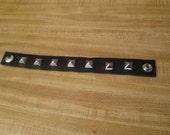 Custom Studded Leather Bracelet