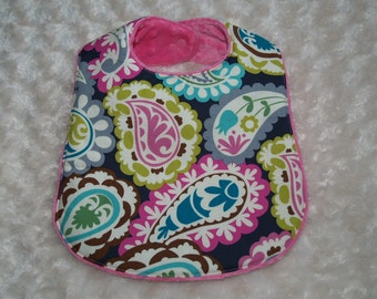 Boutique Kawaii Roco Paiseley Baby Bib
