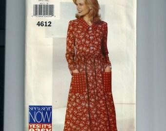 Butterick Misses' / Misses Petite Dress Pattern 4612