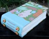 HIP HAPPY HIPPO Art Journal Blank Bound Book