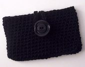 Open Closure Wallet, Made to Order, Crochet Bag, Crochet Wallet