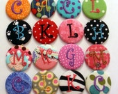 Monogram Button Top Personalized - You choose design