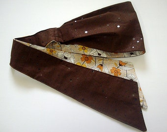"PHAT BAND headband in ""Brownie"""