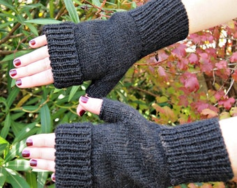 Fingerless Mitts - made to order