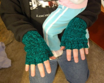 Men's FIngerless Gloves Pattern