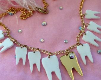 Sweet Tooth Necklace