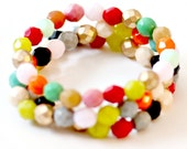 Beaded Bracelet Trio Set