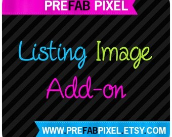 Listing Image Add On - Made to Match