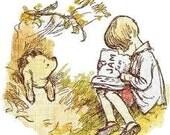 Pooh and Christopher Cross Stitch Pattern PDF