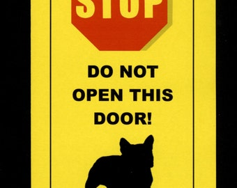 French Bulldog Muscle Dog - 25 lbs of Raw Terror Sign Keeps Frenchie Safe