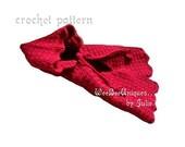 crochet pattern digital download red riding hood cape