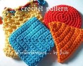 crochet pattern digital download cotton teethers