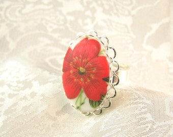 Big, Bold, Flower Ring