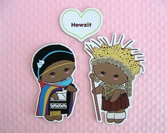 Greeting Magnets-Howzit