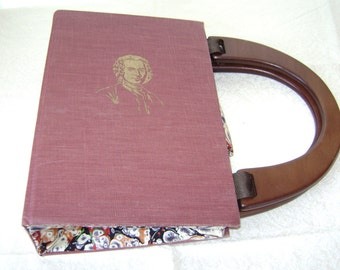 The Story of Civilzation, Rousseau and Revolution...Book Purse