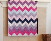Out to Sea Zigzag II quilt kit--LAST ONE
