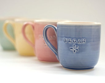 Vegan Dish - Mug - Classic MADE TO ORDER