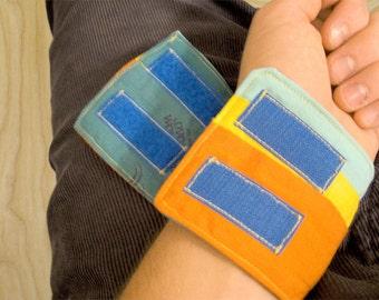 Double Velcro Beach Ball Wristband