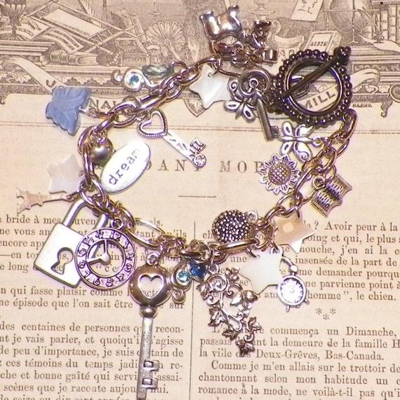 Time Traveler Blues Bracelet