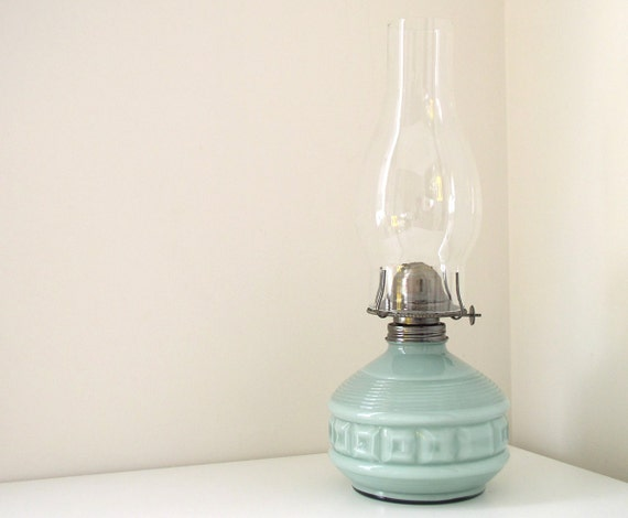 Wall Mounted Paraffin Lamps : Vintage Cottage Chic Kaadan Oil or Paraffin by SadieBessVintage