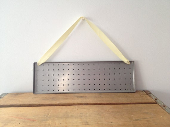 SPRING CLEARANCE - Earring Holder - Wall Hanging - Industrial- Jewelry Storage