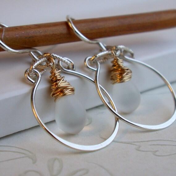 Nestled Drop Earrings