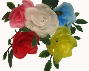 12 x VINTAGE Retro Plastic Rose Picks
